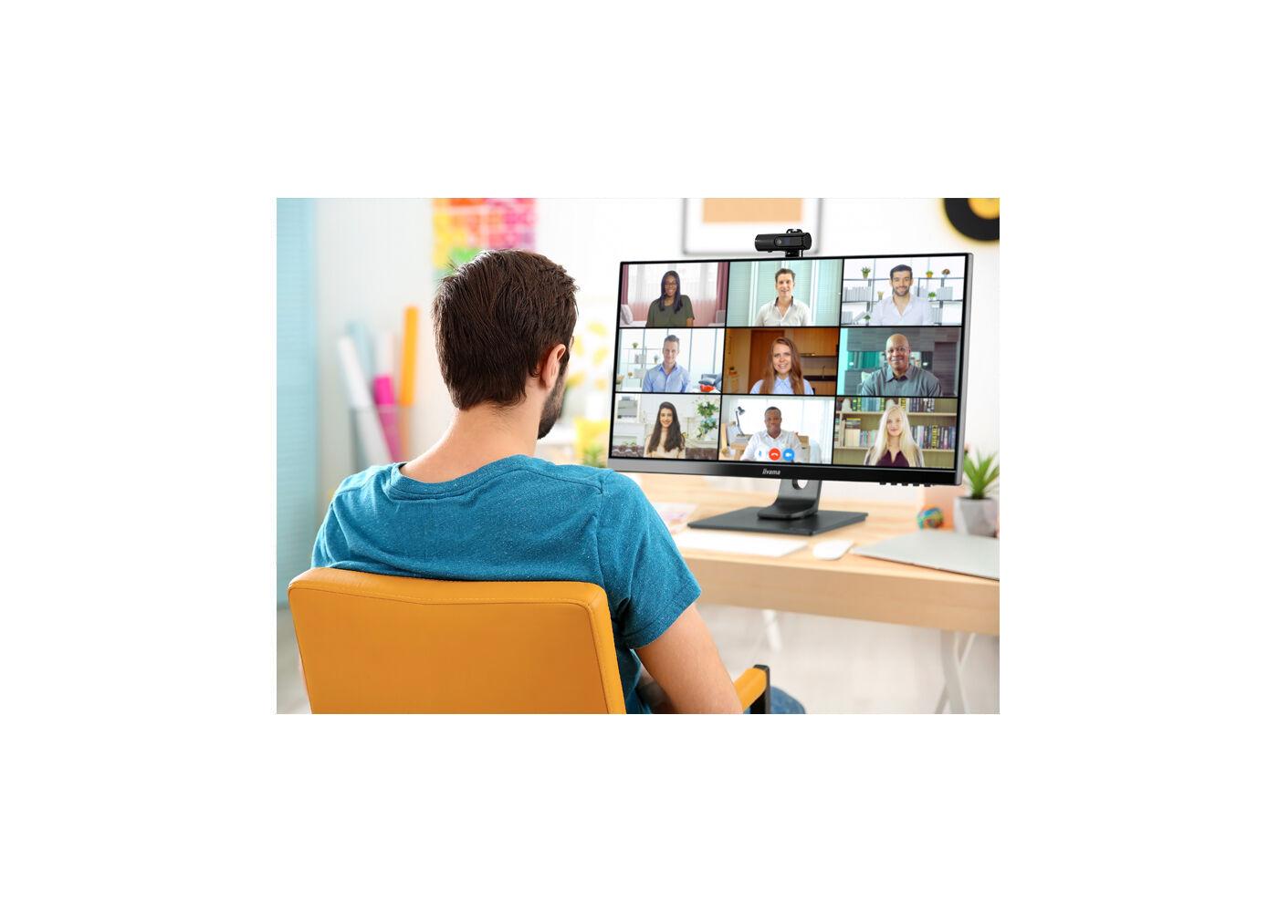 Webcam und Mikrofon