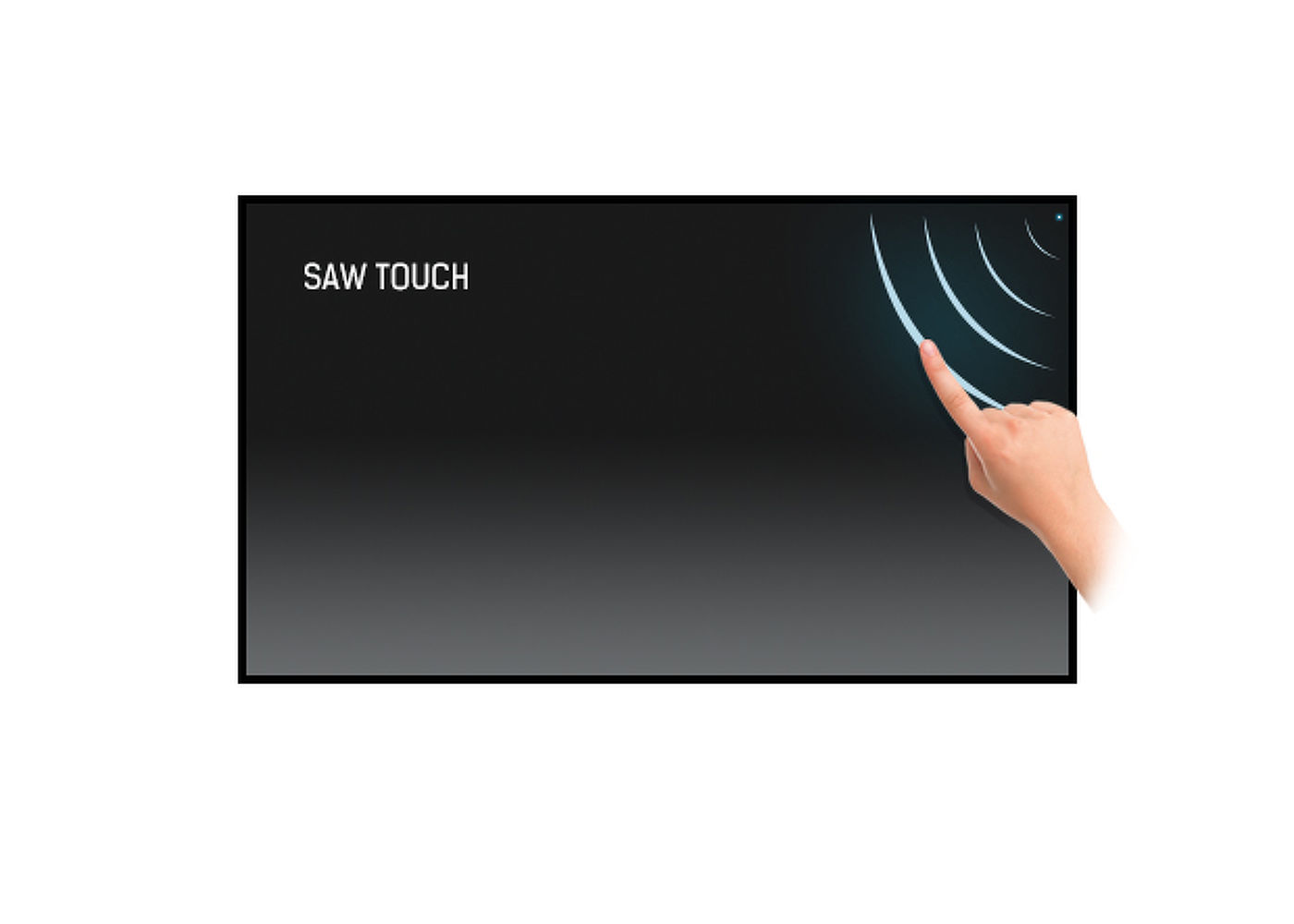 Touch technologie - SURFACE ACOUSTIC WAVE