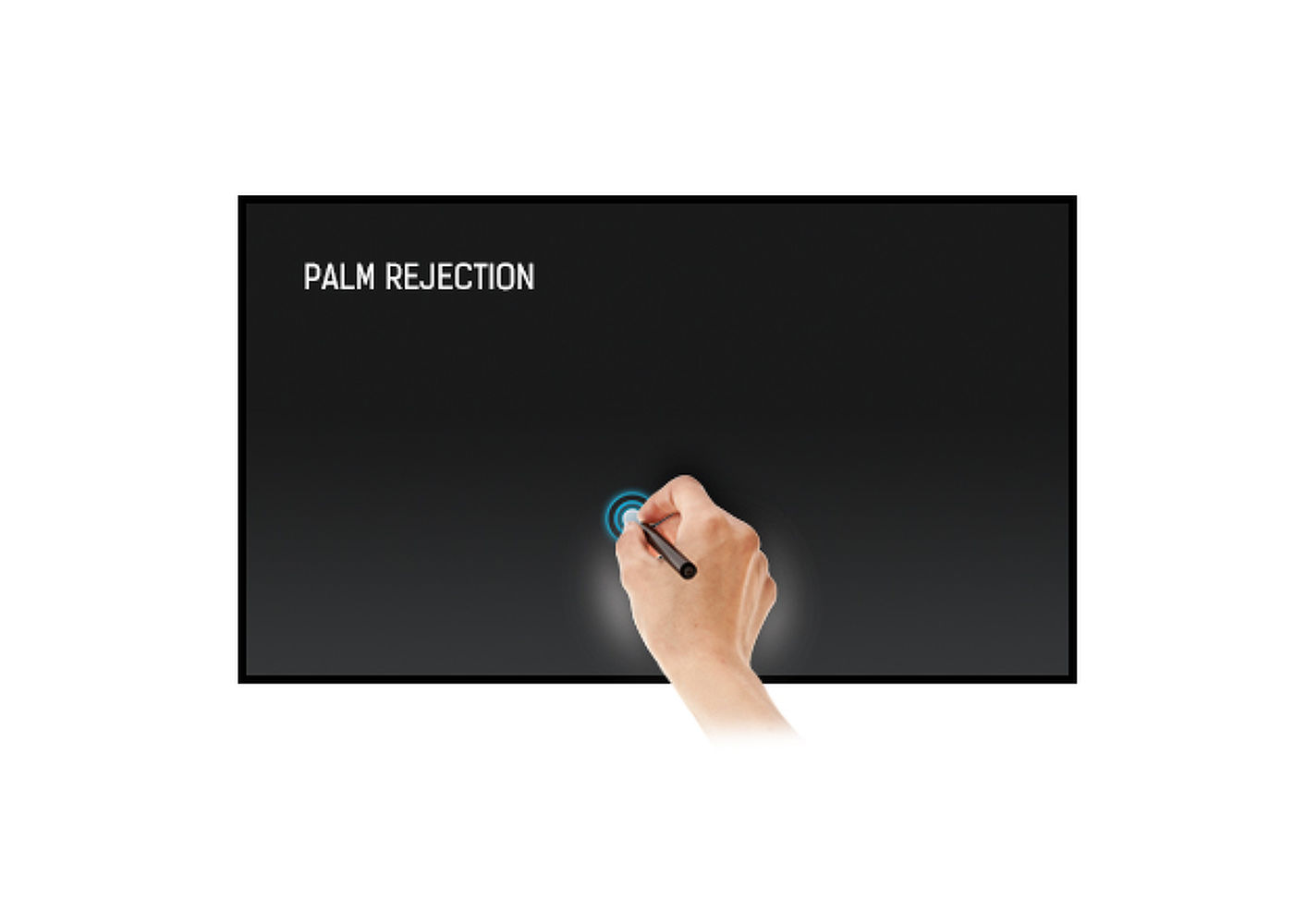 Функция  PALM REJECTION