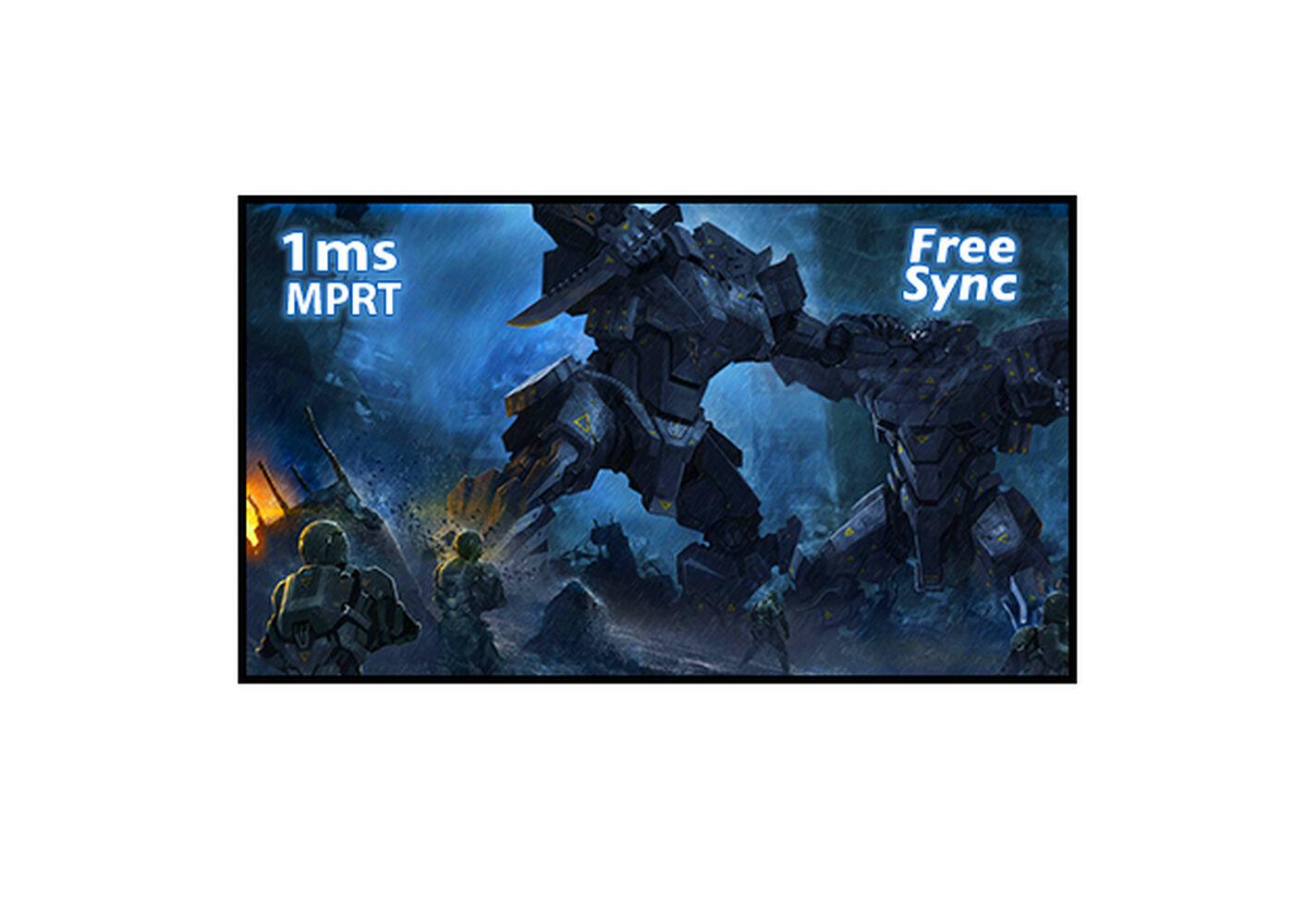FreeSync™ & 1ms MPRT