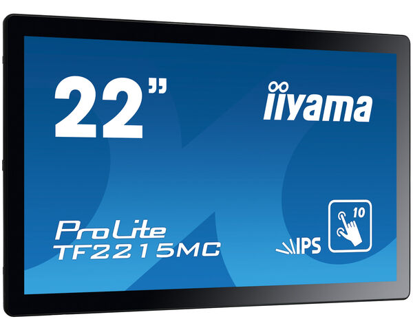 ProLite TF2215MC-B2 - 10pt touch Open Frame monitor with IPS panel and touch through glass function