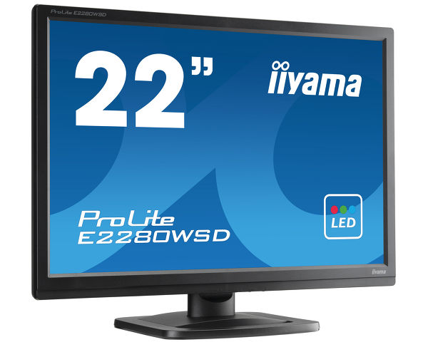ProLite E2280WSD-B1 - The ProLite E2280WSD is a 22'' 1680x1050 LED-backlit monitor. It features 5ms black-to-black response
