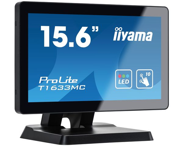 "ProLite T1633MC-B1  - 15.6"" (39,5 cm) ein P-Cap 10-Punkt-Multitouch-Monitor mit Edge-to-Edge Glas"