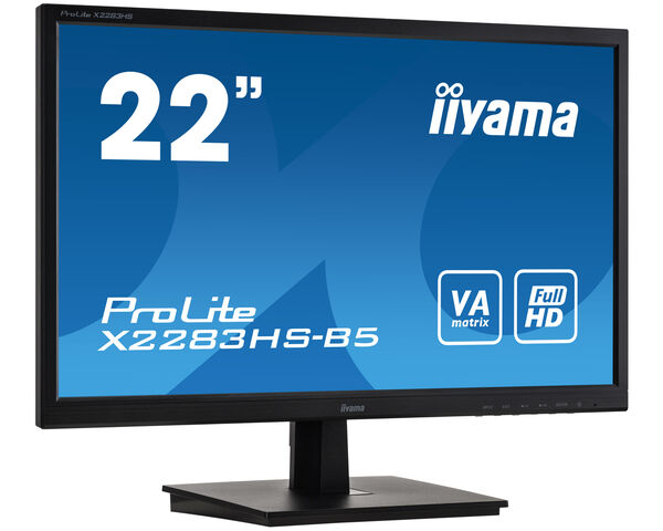 ProLite X2283HS-B5 -  Un moniteur LED Full HD avec la dalle VA