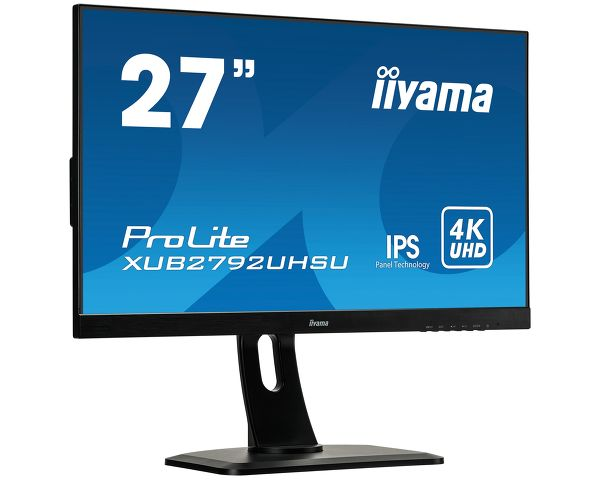 ProLite XUB2792UHSU-B1 - 27'' IPS panel technology, ultra slim monitor featuring 4K resolution