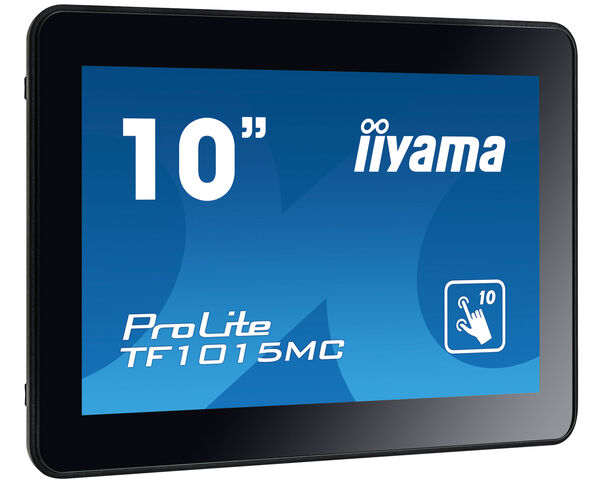 ProLite TF1015MC-B2 - Open Frame PCAP 10 point touch screen equipped with a foam seal finish for seamless integration
