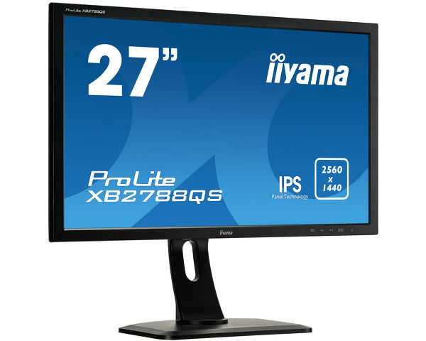 ProLite XB2788QS-B1 - 27'' WQHD monitor providing extra workspace and flexibility