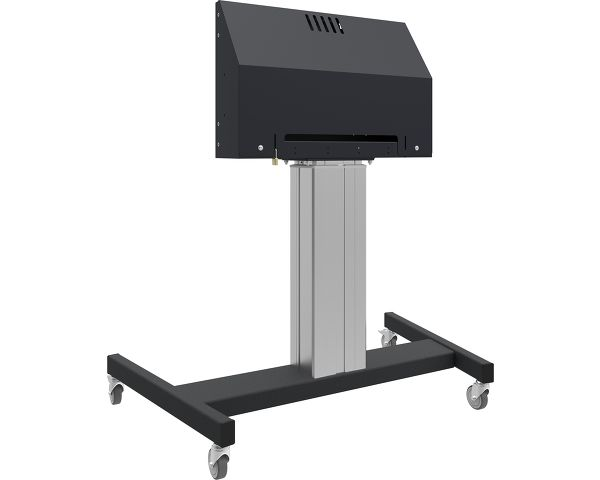 MD 062B7275 A - Floor lift on wheels for (touch) flat screens max 120 kg with lockable lid for protection