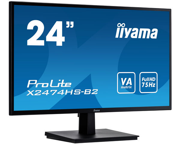 "ProLite X2474HS-B2 - 24"" Full HD monitor with VA panel"