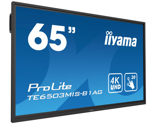 ProLite TE6503MIS-B1AG - 65'' Interactive 4K UHD LCD Touchscreen with integrated annotation software
