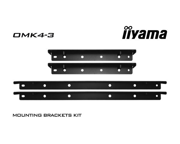 OMK4-3 - Mounting bracket kit for iiyama TF4339MSC open frame touchscreen