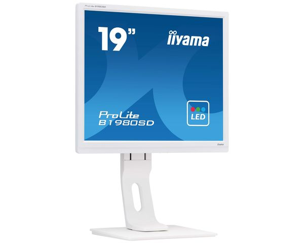 ProLite B1980SD-W1 - The 19'' ProLite B1980SD designed for business usage is a LED-backlit monitor with Height Adjustabil