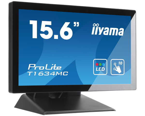 "ProLite T1634MC-B5X - 15.6"" P-Cap 10 point multi-touch monitor with edge-to-edge glass"
