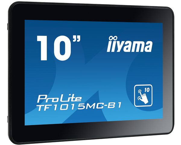 ProLite TF1015MC-B1 - Open Frame PCAP 10 point touch screen equipped with a foam seal finish for seamless integration