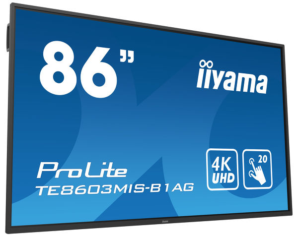ProLite TE8603MIS-B1AG - 86'' interaktives LCD Touch-Display mit integrierter Software