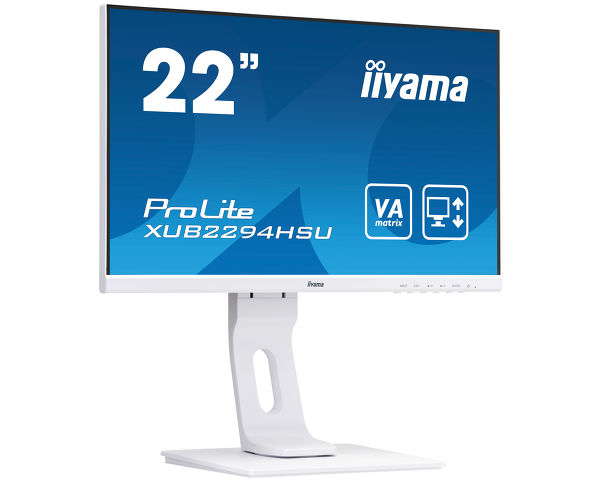 "ProLite XUB2294HSU-W1 - 22"" Full HD  monitor with VA panel and a height adjustable stand"