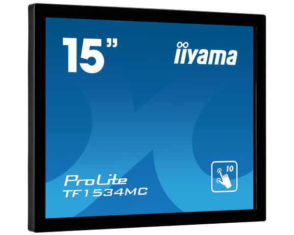 ProLite TF1534MC-B5X - 15'' Open Frame PCAP 10pt touch monitor
