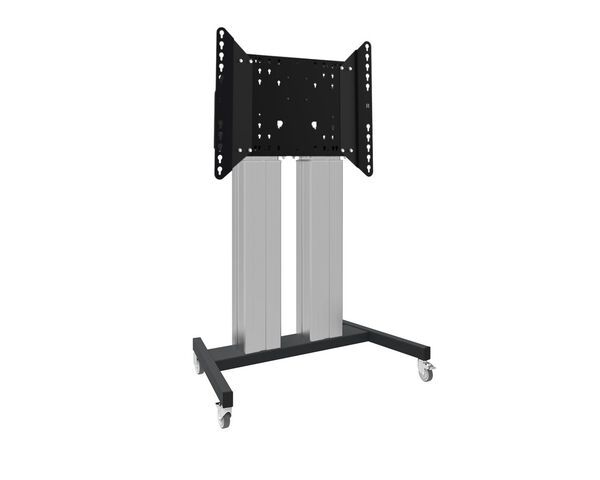 MD 062B7105K - Floor lift XL on wheels for flat touch screens up to 160kg with lockable lid for protection