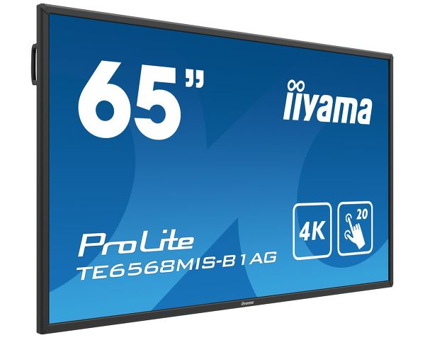 ProLite TE6568MIS-B1AG - 65'' Interactive 4K UHD LCD Touchscreen with integrated annotation software