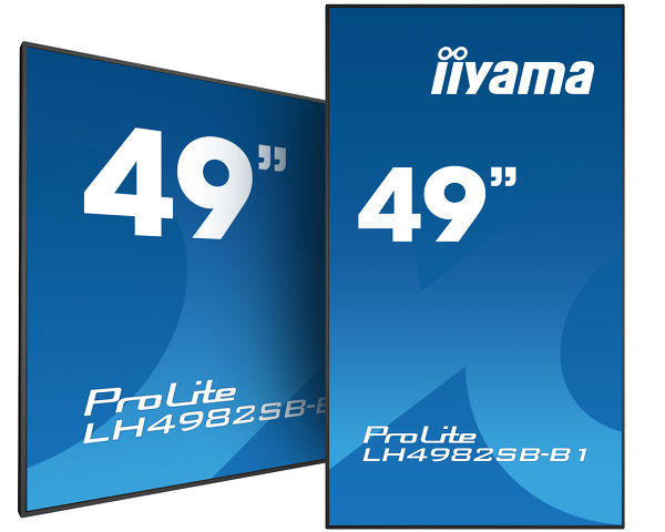 "ProLite LH4982SB-B1 - Maximum impact with this 49"" Digital signage LFD with 700cd/m2"