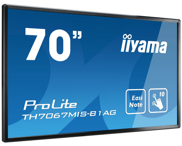 ProLite TH7067MIS-B1AG - 70'' Interactive LCD Touchscreen with integrated annotation software and USB playback
