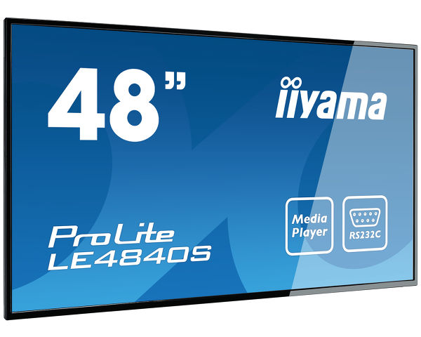 "ProLite LE4840S-B1 - ProLite LE4840S - a 48"" large format display with USB media playback"