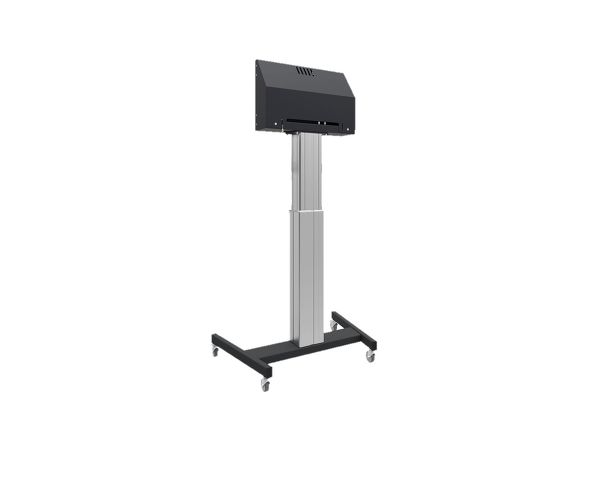 MD 062B7295 - Floor lift on wheels for large format (touch)  displays up to 120 kg with lockable lid for protection