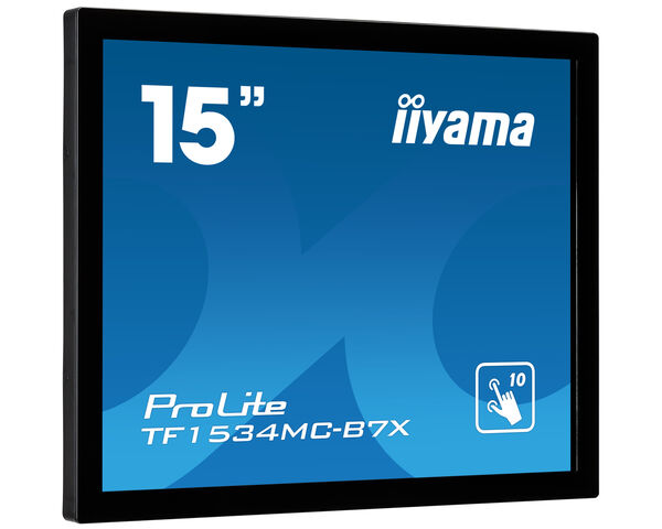 ProLite TF1534MC-B7X - 15-calowy monitor open frame z 10 punktami dotykowymi i funkcją touch through glass