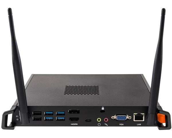 SPC5802BB - Un Intel® i5 mini PC con Windows® 10 IoT Enterprise, vPro e TPM (Trusted Platform Module)