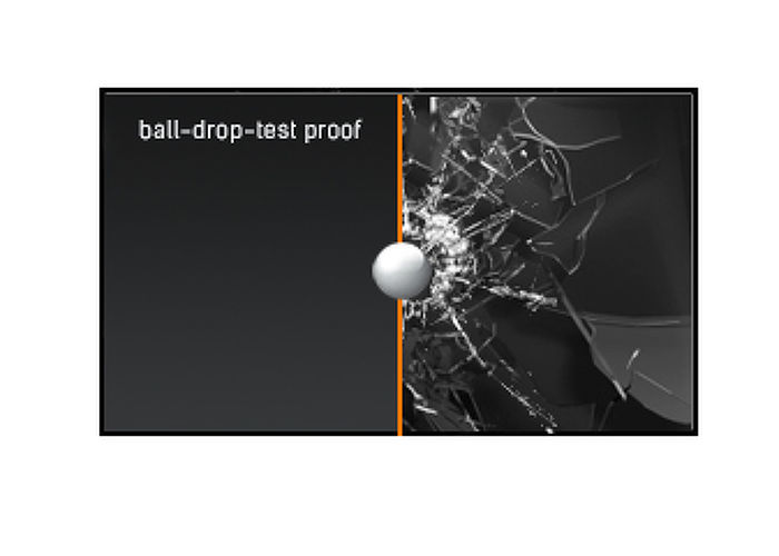 Ball-drop-test proof